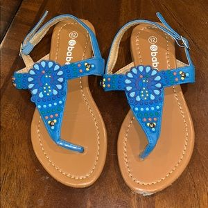 Babe- thong sandals - Size 12
